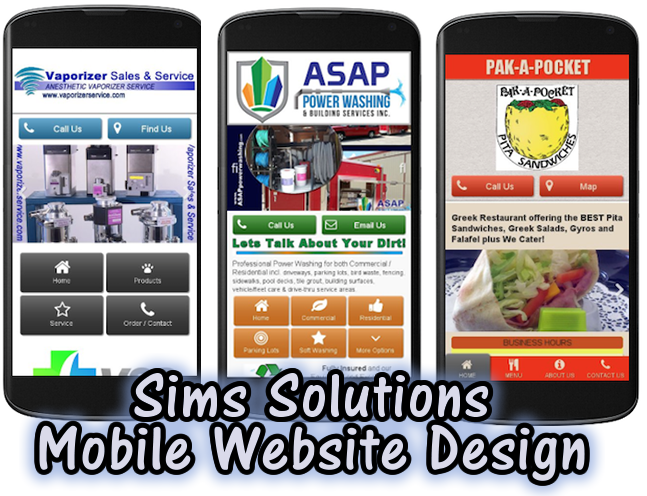 Sims Solutions offers Mobile Web Design | Responisve Web Design | www.simssolutions.com
