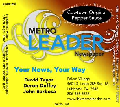 Newspaper Private label